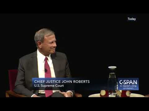 Chief Justice Roberts Remarks at University of Minnesota Law School Oct 16 2018