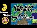 Lunar Magic: My first SMW Rom hack in under 2 days!