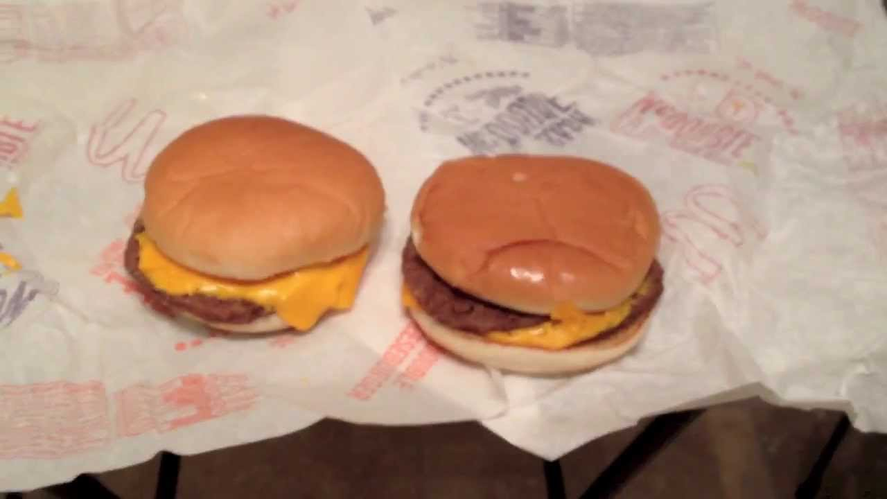 McDonalds Double Cheeseburger Vs McDouble