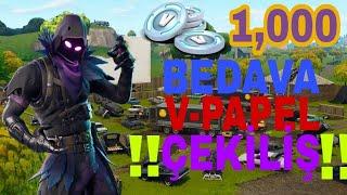 1,000 V-Papel Çekiliş Fortnite Battle Royale ps4 Türkçe
