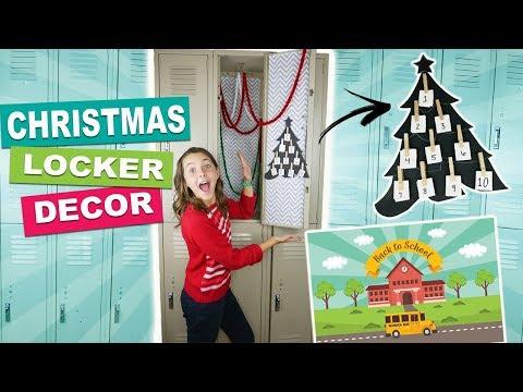 Back To School Diy Christmas Locker Decor Ideas And