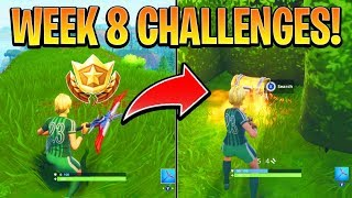 Fortnite ALL WEEK 8 CHALLENGES GUIDE! – ALL RIFT Locations, Treasure MAP (Battle Royale Season 5)