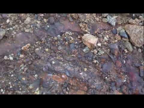 Formaciones de mineral de hierro