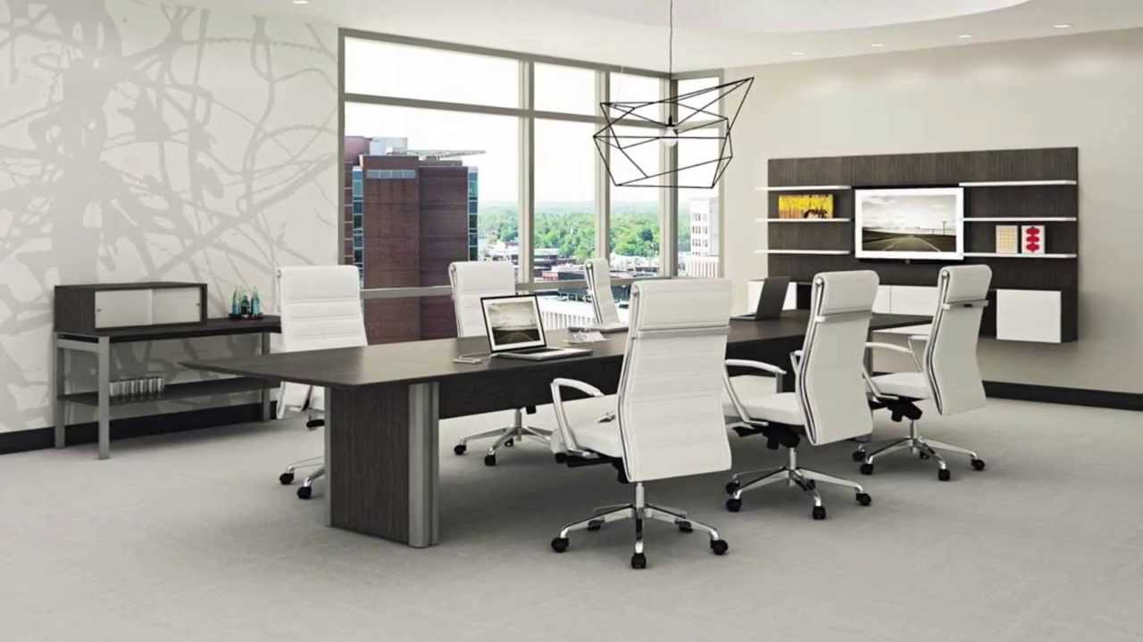 Modern Conference Tables   Contemporary Office Furniture   YouTube