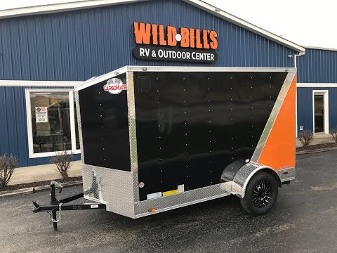 Wild Bill's harley special 6x10 enclosed motorcycle trailer $2895