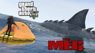 THE MEG MOD! A GIANT FREAKING MEGALODON IN GTA 5! - Gta 5 Mods!