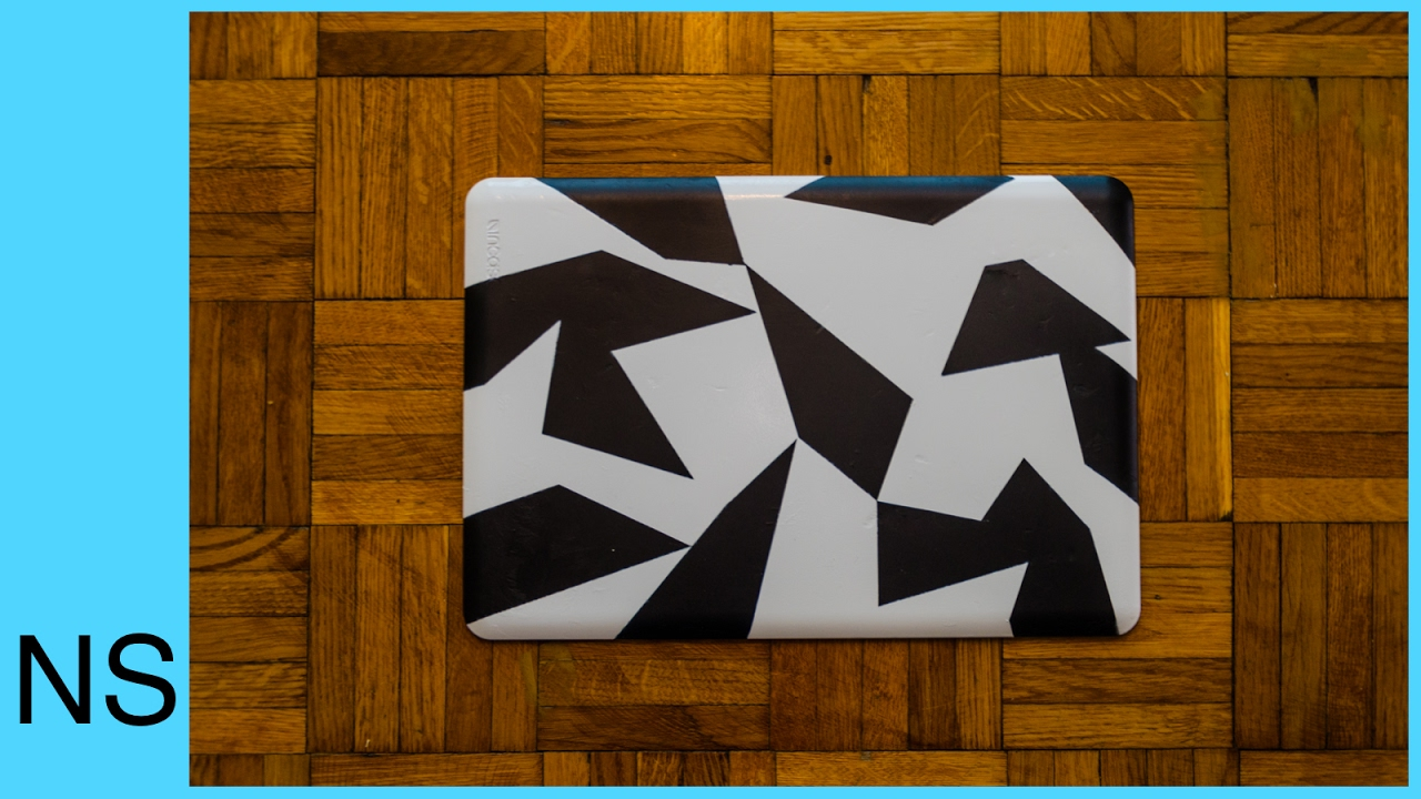 CUSTOM MACBOOK PRO COVER CASE CAMO PAINT | JON OLSSON STYLE