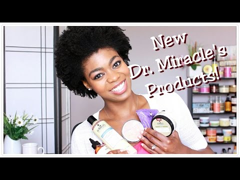 New Dr. Miracles Products Overview/Review! - (8 products!) 4C Natural Hair - NaturalMe4C