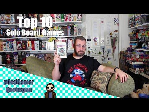 Top 10 Solo Board Games