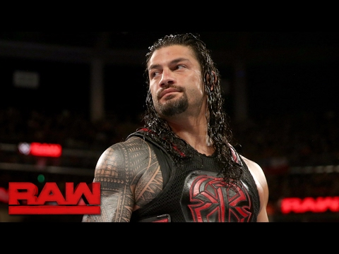 Roman Reigns declares that WWE is his yard...