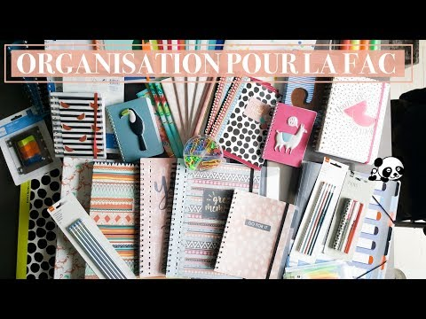 📚 MON ORGANISATION POUR LA FAC DE DROIT À PANTHÉON SORBONNE