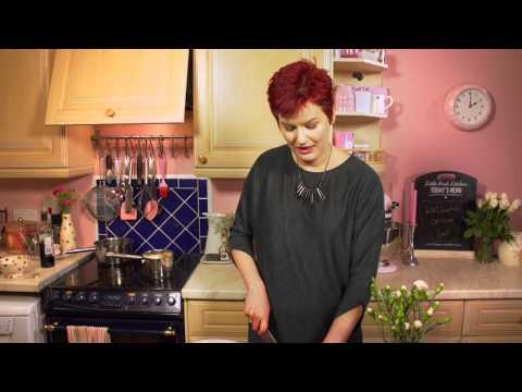 Belfast Telegraph: Balsamic Onion & Goat's Cheese Tart at the Little Pink Kitchen