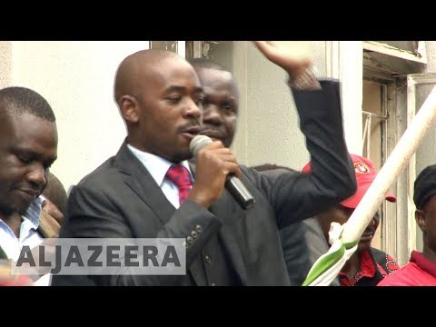 🇿🇼 Zimbabwe opposition party names acting president
