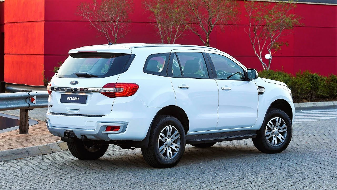 2019 Ford Everest Exterior And Interior