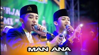 MAN ANA Versi Syubbanul Muslimin - Magetan Bersholawat