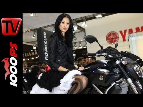 Yamaha Motorrad Neuheiten 2014-MT-07--MT-09 Street Rally--SR 400--Tricity--X-Max 125 X-Max 250