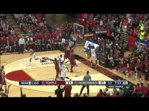 MBB: Cincinnati 69, Temple 58 (Highlights Courtesy: CBS College Sports)
