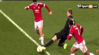 Cuplikan Gol Manchester United Vs Midtjylland 5-1 (26-02-2016)