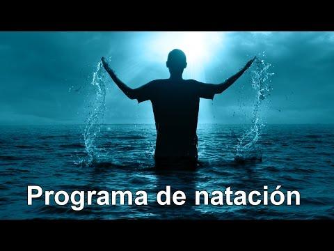 Entrenamiento de natación para adelgazar nadando - Programa para empezar a nadar de 4 semanas