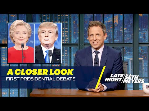 Donald Trump and Hillary Clinton's First Presidential Debate: A Closer Look