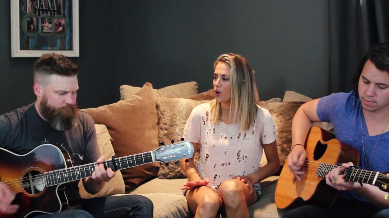 Jana Kramer Cowboy Take Me Away Acoustic Cover Youtube