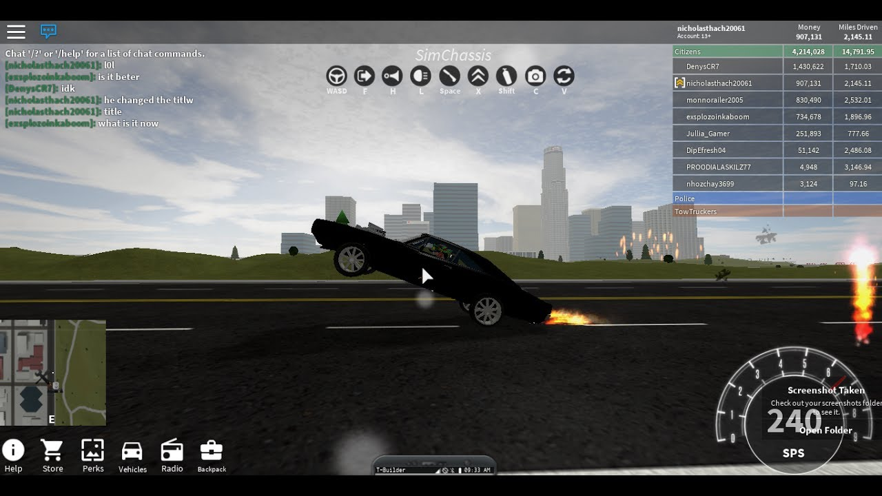 How To Wheelie With The 1970s Dodge Charger In Roblox ...