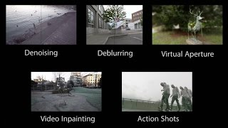 Sampling Based Scene Space Video Processing