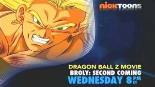 Nicktoons- Broly Second Coming Commercial