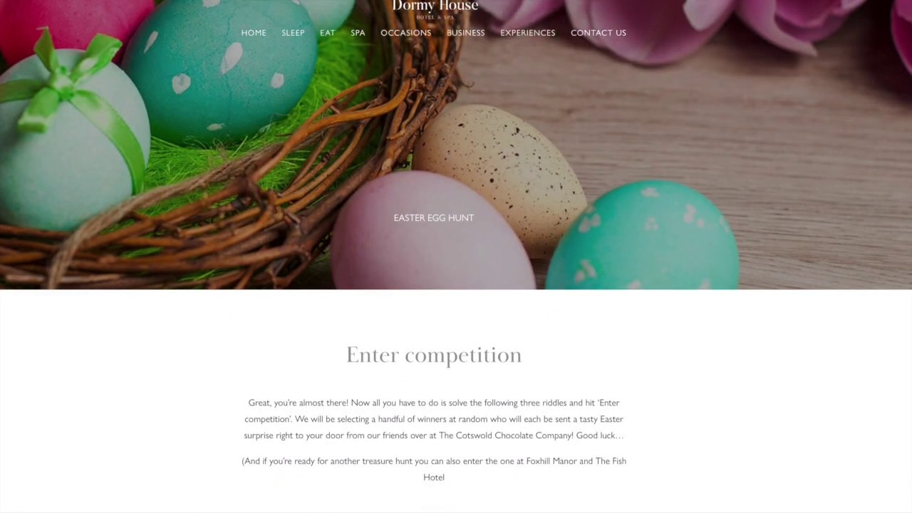 Easter Egg Hunts within Virtual tours