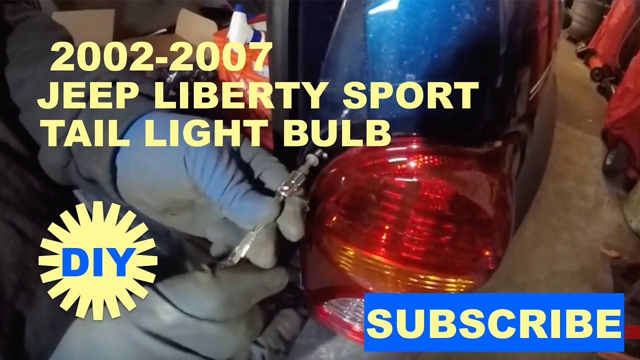 How To Change Tail Light On 2002 Jeep Liberty Sport
