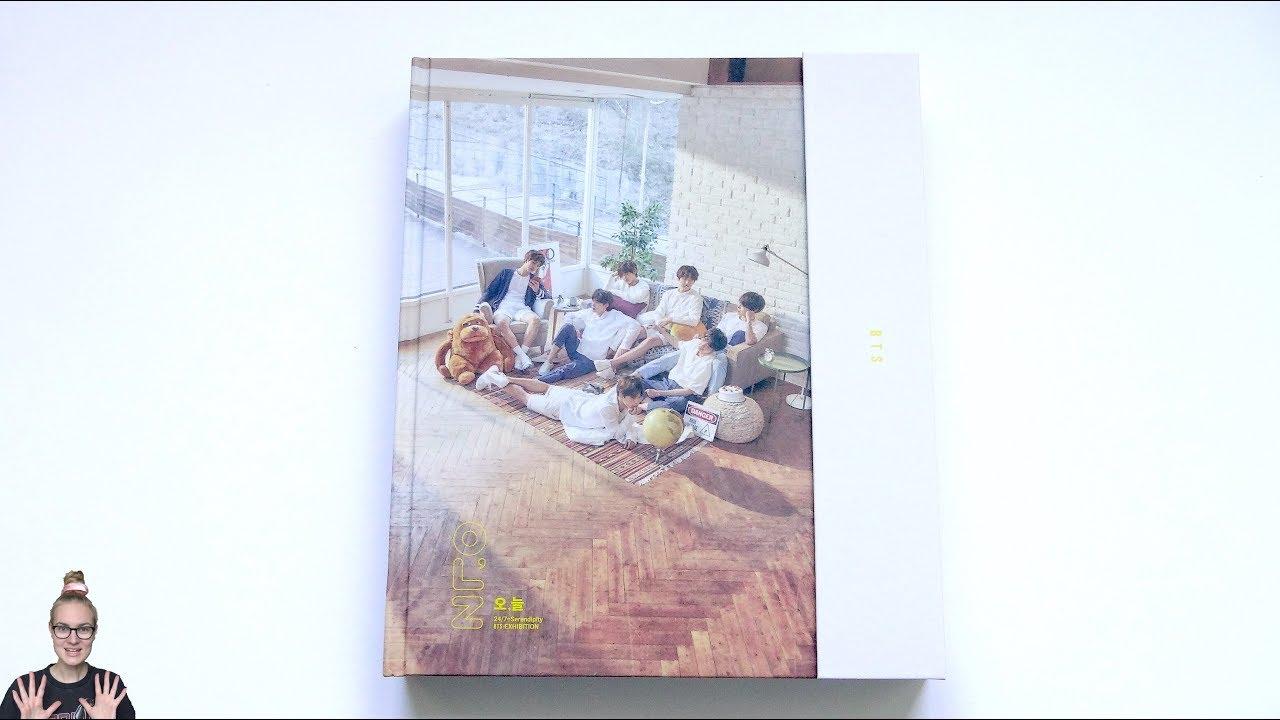 Download Unboxing BTS 방탄소년단 Exhibition Book (Photobook)