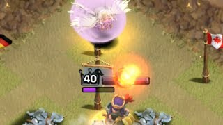 Clash of Clans From Fail to Win LIVE! Queen Healer, with Peter17$