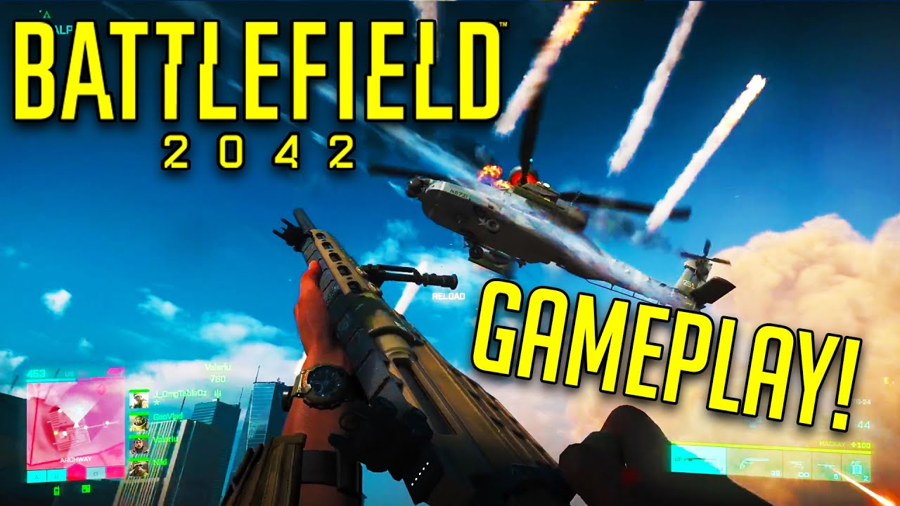 BATTLEFIELD 2042 GAMEPLAY TRAILER FULL DETAILS! - BF2042 ALL SECRETS, Weapons & Vehicles Analysis!