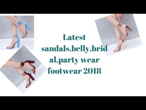Latest Trendy Sndals,belly,party Wera,bridal Footwear 2018