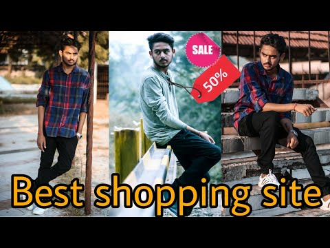 5 Best Online Shopping Site For Men    Best And Cheap Clothes For Men    Trending Fashion