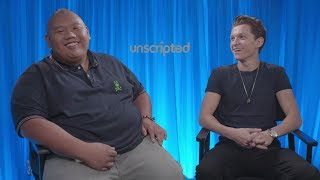 'Spider-Man: Homecoming' | Unscripted | Tom Holland, Jacob Batalon