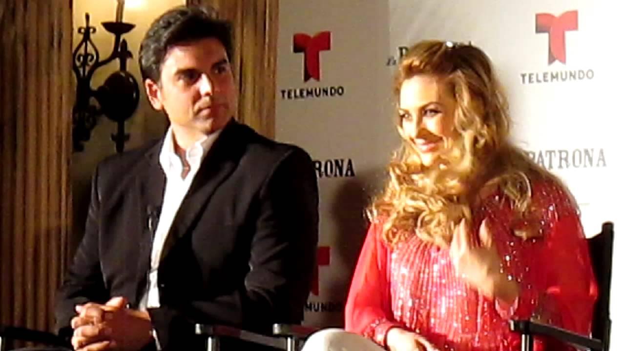 Aracely Arambula y Jorge Luis Pila de La Patrona - YouTube