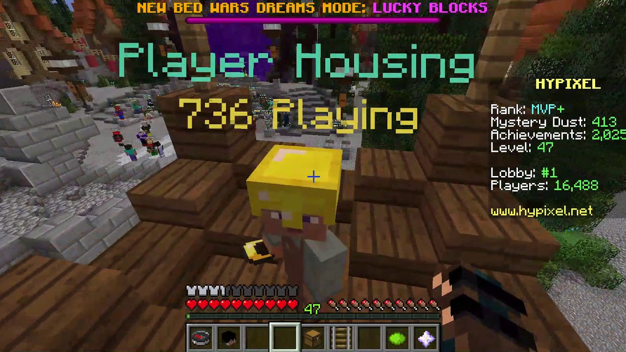 All housing guides combined! [With videos!]  Hypixel - Minecraft