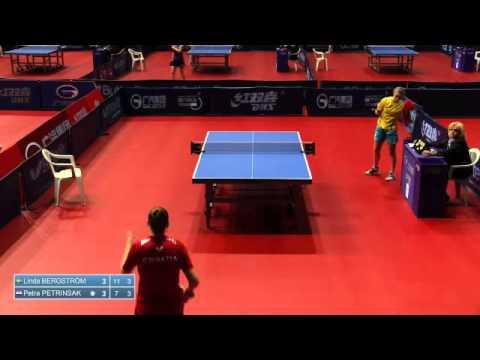 2014 Croatia Open U21 WS BERGSTROM Linda SWE vs PETRINSAK Petra CRO