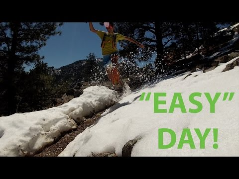 A RUN UP FLAGSTAFF MOUNTAIN TRAIL IN BOULDER, COLORADO | SAGE CANADAY