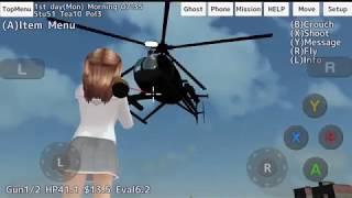 School Girls Simulator 14/10/2018 Sakura attacks by helicopter