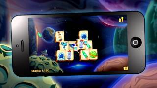 Mahjong Worlds NEW Space World | Mobile Game for iPhone by Zariba
