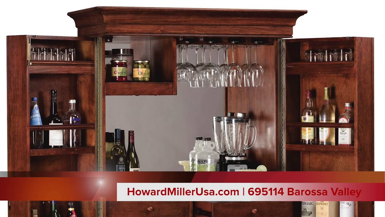 Howard Miller Wine U0026 Bar Cabinet | 695114 Barossa Valley