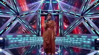 Rajalakshmi in super singer 6 song