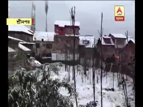 Kashmir receives snowfall in April after a decade, Jammu-Srinagar highway closed