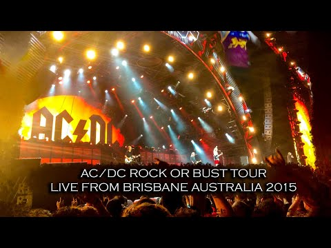 AC/DC Rock Or Bust Tour Live From Brisbane Australia