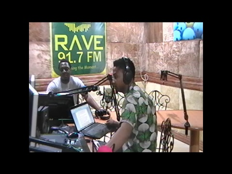 RAVE FM - Sports Drive with Joseph Atewe on Oct. 27, 2017