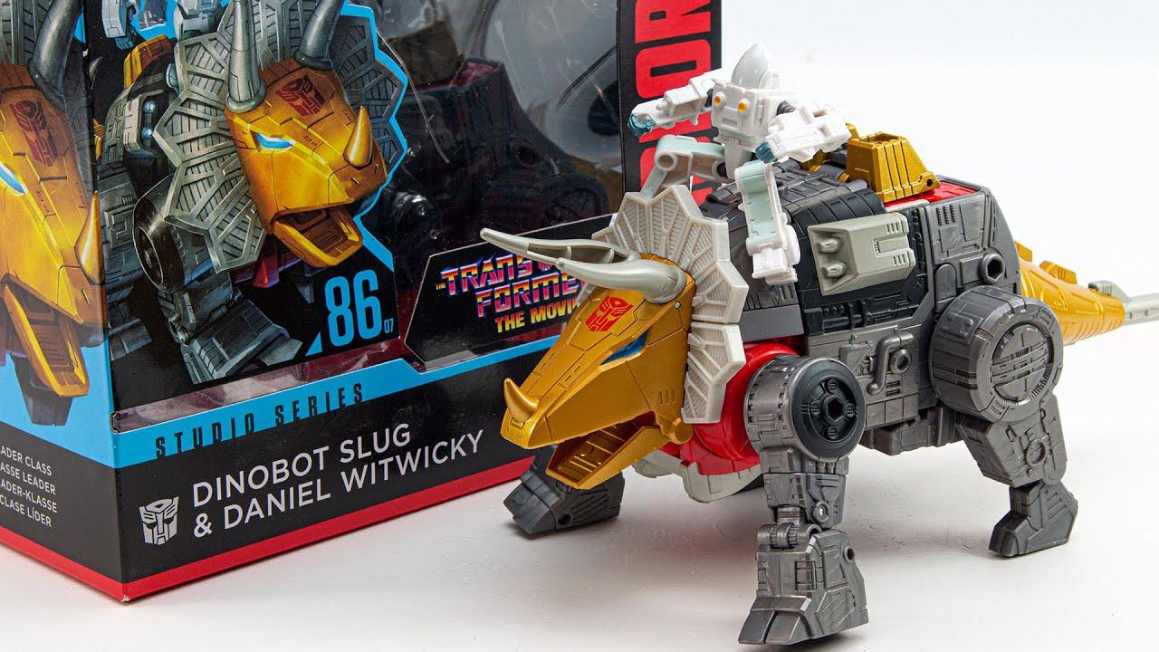 Transformers The Movie Studio Series 86-7 Dinobot Slug & Daniel Witwicky Dinosaurs Robot Toys