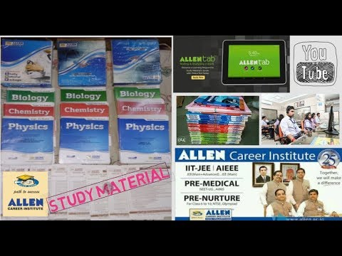 ALLEN STUDY MATERIALS FOR JEE GOOGLE DRIVE