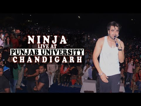 Ninja Live Punjab University Chandigarh || Karma Entertainment